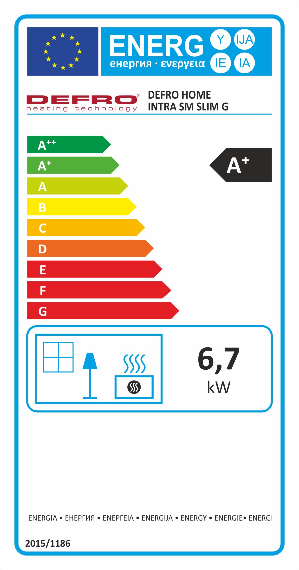 Defro Home Intra SM SLIM energeticky stitok krbyonline