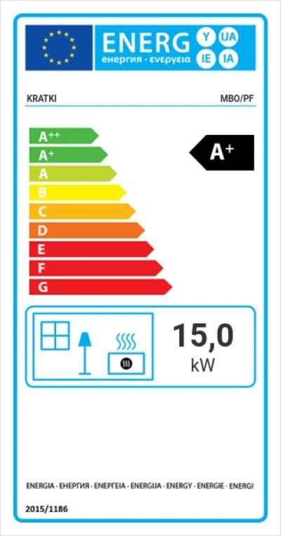 Kratki MBO 15 energiacímke kandalloshop