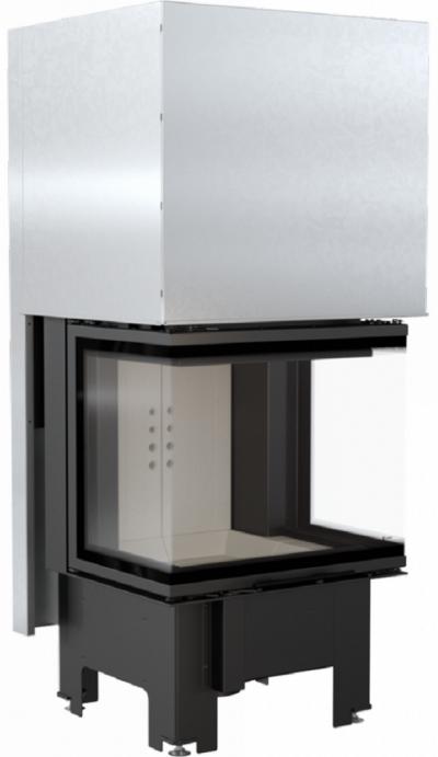 Kratki NBC 9 kW exkluzív három oldalú kandallóbetét liftes tolóajtóval