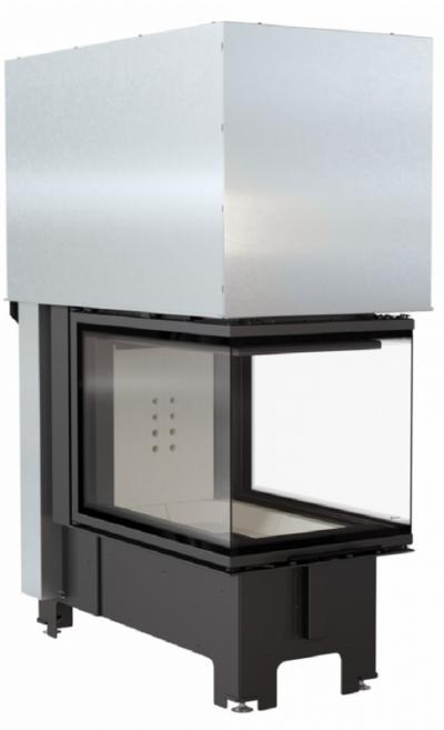 Kratki NBU 11 kW exkluzív három oldalú kandallóbetét liftes tolóajtóval