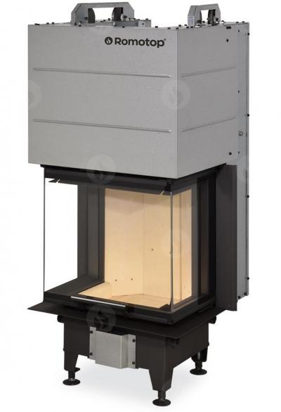 Romotop Heat C 2g L 50.52.31.01 három oldalú kandallóbetét liftes tolóajtóval