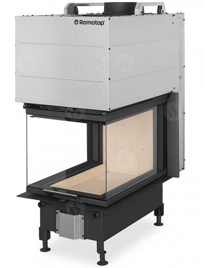Romotop Heat U 3g L 50.52.70.21 exkluzív három oldalú kandallóbetét liftes tolóajtóval