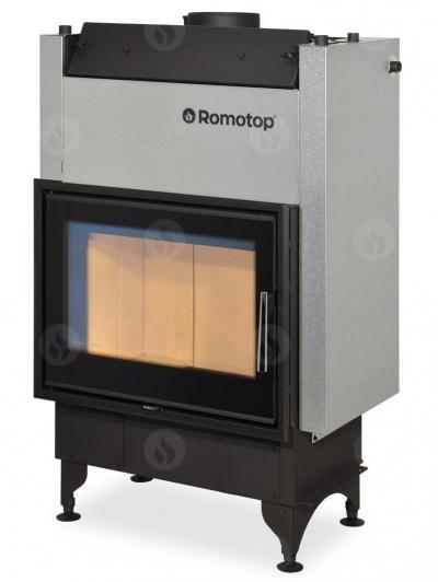 Romotop KV 025 W01 vízteres kandallóbetét dupla üveggel