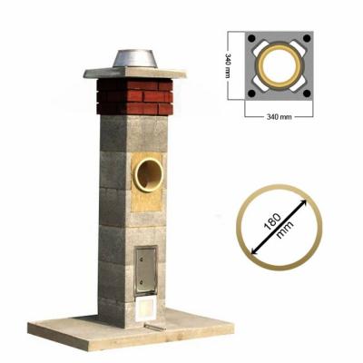 Stadreko komín s vatou Ø 180 mm
