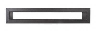 Krbová mriežka TUNEL 6x40 cm grafitová