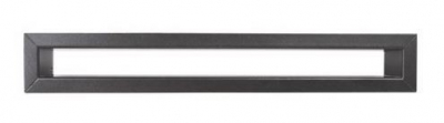 Krbová mriežka TUNEL 6x60 cm grafitová