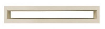 Krbová mriežka TUNEL 6x40 cm krémová