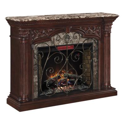 Classic Flame Astoria barokk stílusú elektromos látványkandalló fűtéssel