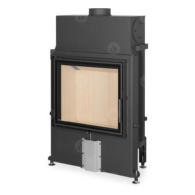 Romotop Impression 2g 67.60.01 masszív acél kandallóbetét dupla üveggel