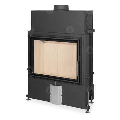 Romotop Impression 2g 80.60.01 masszív acél kandallóbetét dupla üveggel