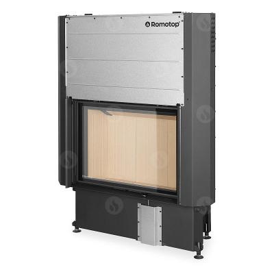 Romotop Impression 2g L 80.60.01 masszív acél kandallóbetét liftes tolóajtóval