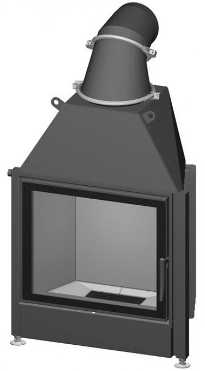 Spartherm Mini S 51 sík üvegű acél kandallóbetét