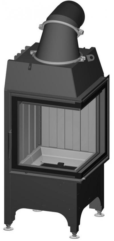Spartherm Mini 2 L/R rohová oceľová krbová vložka