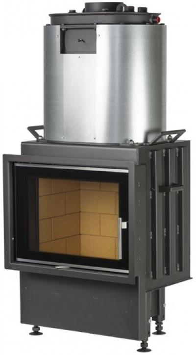 Kobok Chopok 600/450 510 rovná krbová vložka s teplovodným výmenníkom