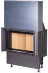 Kobok Chopok 800/450 510 570 sík üvegű kandallóbetét liftes tolóajtóval kandalloshop