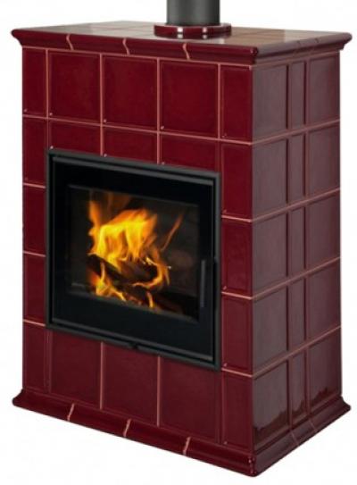 Hein Baracca 8 TV keramické kachle s teplovodným výmenníkom