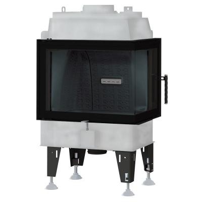 BeF Royal 8 CP hajlított üvegű légfűtéses kandallóbetét jobbos