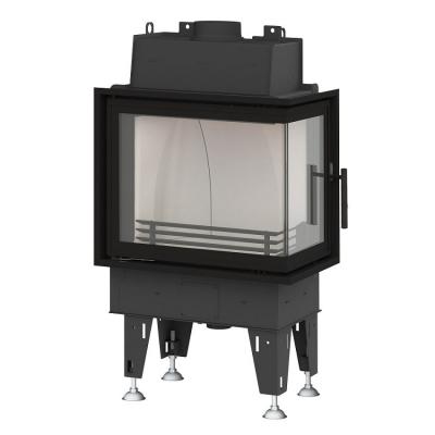 BeF Passive 7 CL hajlított üvegű hégfűtéses kandallóbetét ballos