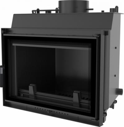 Kratki Wiktor DECO W krbová vložka s teplovodným výmenníkom a dizajnovým sklom