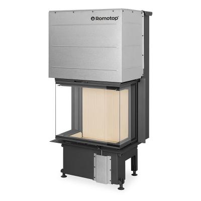Romotop Impression C 2G L 67.61.34.21 háromoldalas kandallóbetét sík üveggel és liftes tolóajtóval