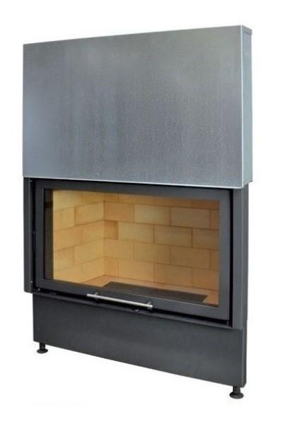 Kobok Chopok VD 1070/450 510 570 sík üvegű légfűtéses kandallóbetét liftes tolóajtóval