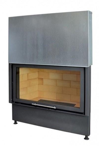 Kobok Chopok VD 1170/450 510 570 sík üvegű légfűtéses kandallóbetét liftes tolóajtóval