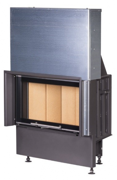 Kobok Chopok VD 620/450 510 570 sík üvegű légfűtéses kandallóbetét liftes tolóajtóval