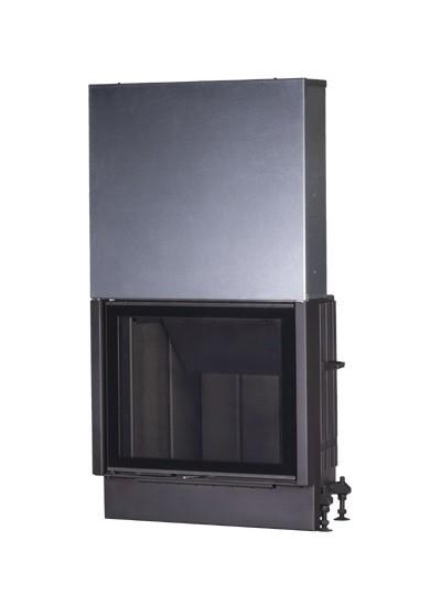Kobok Chopok VD 850/620 sík üvegű légfűtéses kandallóbetét liftes tolóajtóval