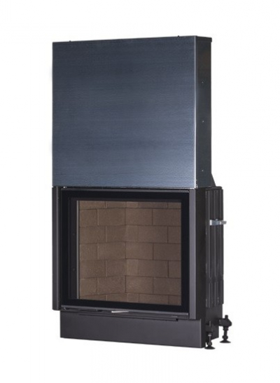 Kobok Chopok VD 970/700 sík üvegű légfűtéses kandallóbetét liftes tolóajtóval