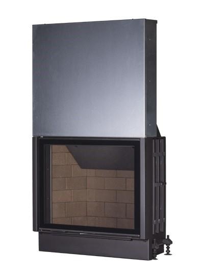 Kobok Chopok VD 1070/750 sík üvegű légfűtéses kandallóbetét liftes tolóajtóval