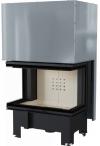 Kratki NBC 10 kW moderná dizajnová trojstranná krbová vložka krbyonline