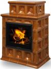 Hein BARACCA 4  klasické keramické krbové kachle s veľkým ohniskom krbyonline