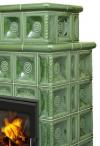 Hein BARACCA 4N klasické keramické krbové kachle s veľkým ohniskom krbyonline