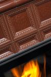 Hein BARACCA 7N klasické keramické krbové kachle s veľkým ohniskom krbyonline