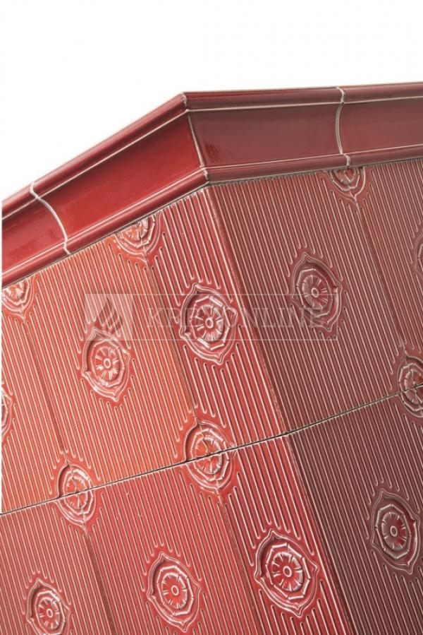 Hein Este 2H klasické keramické krbové kachle na tuhé palivo krbyonline