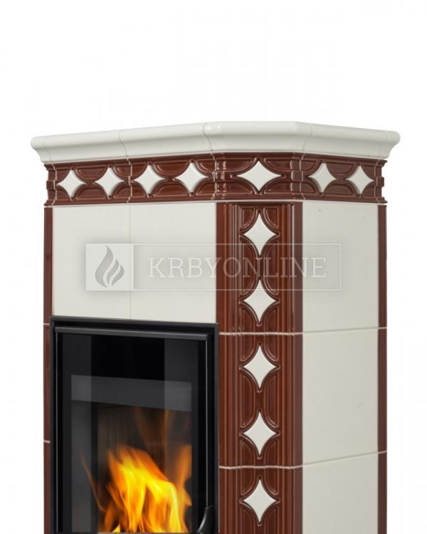 Hein Este 3 moderné keramické krbové kachle na tuhé palivo krbyonline