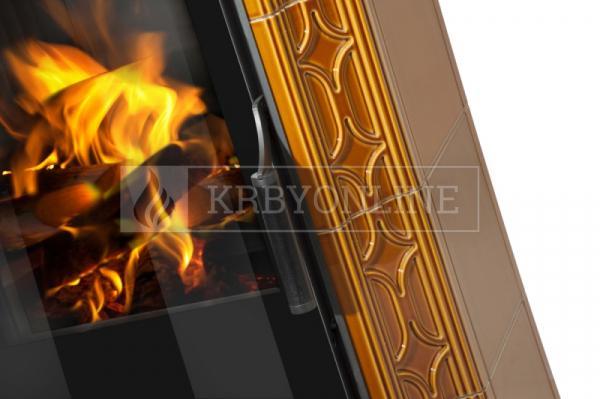 Hein Este 3H klasické keramické krbové kachle na tuhé palivo krbyonline