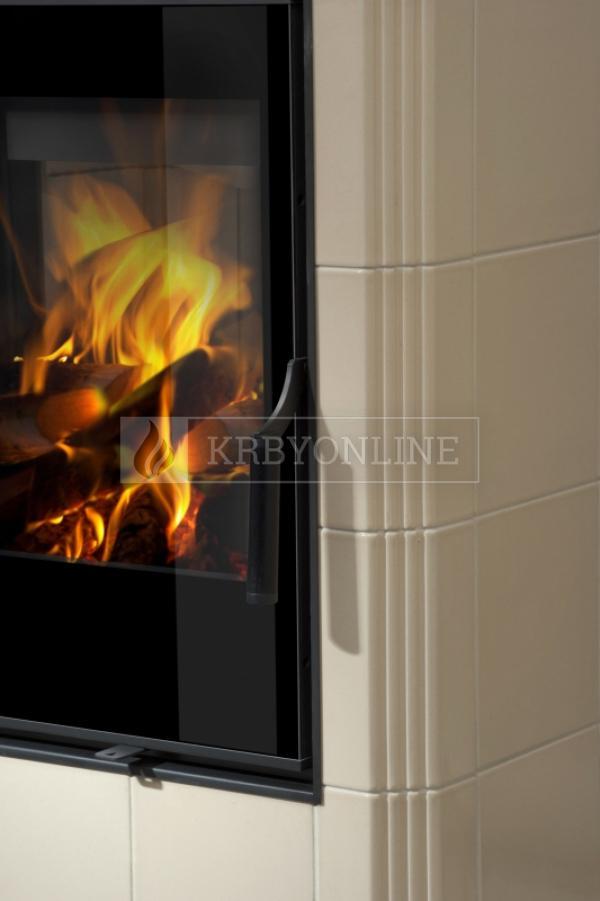 Hein Este 5 moderné keramické krbové kachle na tuhé palivo krbyonline