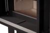 Flamen Gama 60H F moderná, oceľová krbová vložka na drevo so širokým designovým sklom krbyonline