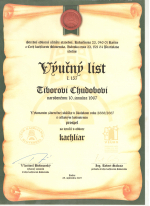 Výučný list - Tibor Chudoba krbyonline