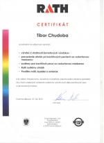 Rath certifikát - Odborný seminár - AZ DESIGN - Tibor Chudoba krbyonline