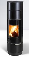 Thorma Delia Keramik Plus čierna krbové akumulačné keramické kachle krbyonline