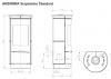 Thorma Andorra Serpentino Extra krbové akumulačné mastencové kachle krbyonline