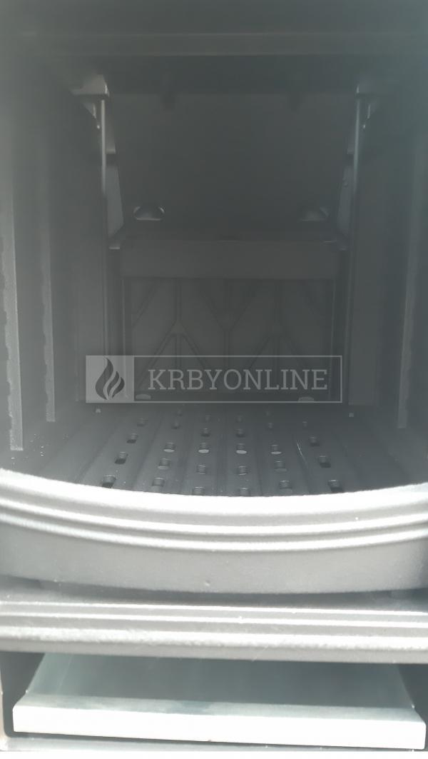 Kratki KOZA K10 teplovzdušné liatinové krbové kachle krbyonline