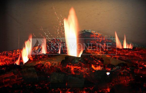 Dimplex Opti V Single moderný elektrický krb s 3D efektom plameňa krbyonline