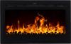 Aflamo Majestic 36 moderný elektrický krb s 3D efektom plameňa krbyonline