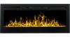 Aflamo Majestic 50 moderný elektrický krb s 3D efektom plameňa krbyonline