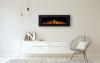 Aflamo Majestic 60 moderný elektrický krb s 3D efektom plameňa krbyonline