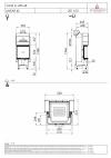 Spartherm Varia C 45h exkluzívna trojstranná oceľová krbová vložka s výsuvnými dvierkami krbyonline