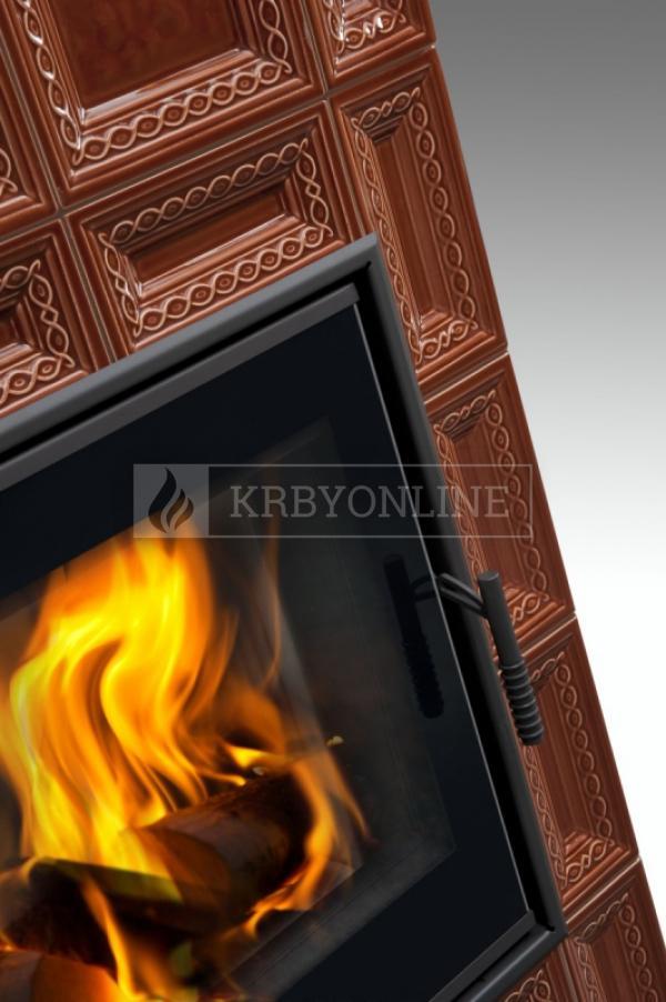 Hein Baracca 7 TV teplovodné krbové kachle krbyonline